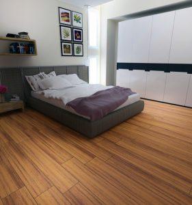 Lantai kamar tidur Kayu